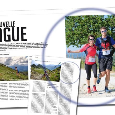 """Article dans Trails Endurance Mag #113 sur les courses de la """"Nouvelle Vague"""""""